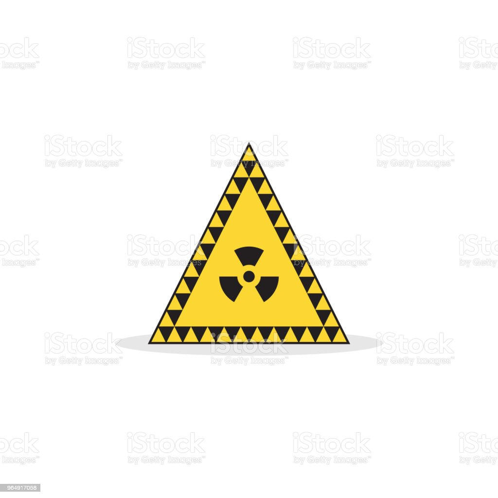 Radioactive zone icon royalty-free radioactive zone icon stock vector art & more images of alarm