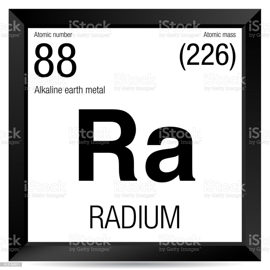 Radium symbol element number 88 of the periodic table of the radium symbol element number 88 of the periodic table of the elements chemistry royalty urtaz Images