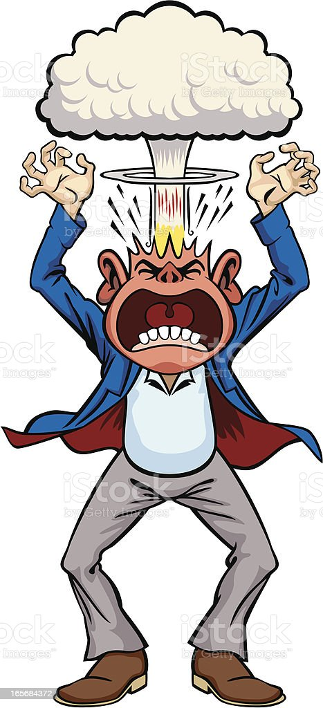 Rage royalty-free rage stock vector art & more images of anger