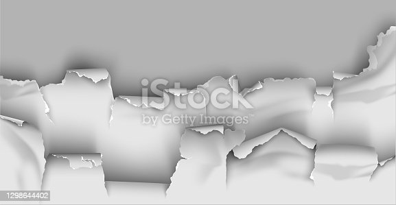 istock ragged Hole torn in ripped paper on transparent background 1298644402