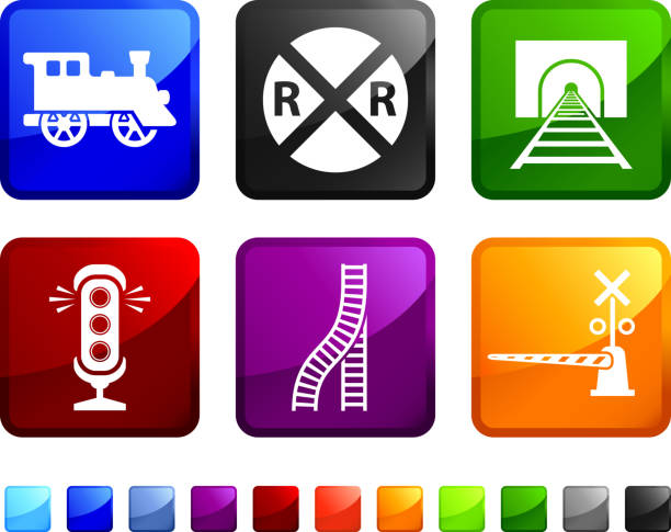 Preferred Royalty Free Railroad Crossing Clip Art, Vector Images  OQ83