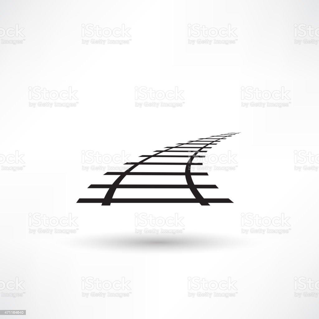 Railroad-Symbol – Vektorgrafik