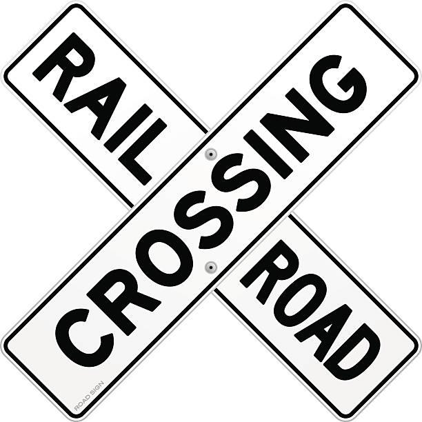 Train Crossing Illustrations, Royalty-Free Vector Graphics ... (612 x 612 Pixel)
