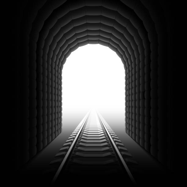 Best Train Tunnel Illustrations, Royalty-Free Vector ...