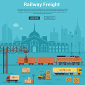 Railway Freight Delivery and Logistics