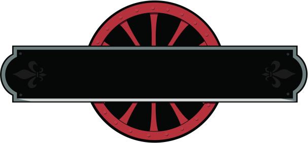 Railway placard