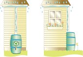 istock Rain Barrel 95754062