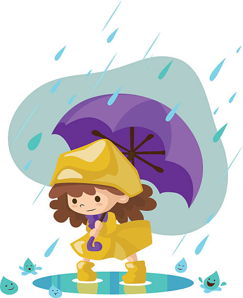 Best Dancing In The Rain Illustrations, Royalty-Free ...