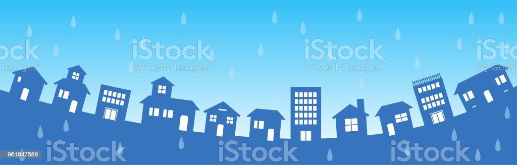 Rain city background 1 royalty-free rain city background 1 stock vector art & more images of art product