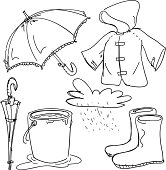 Rain gear collection