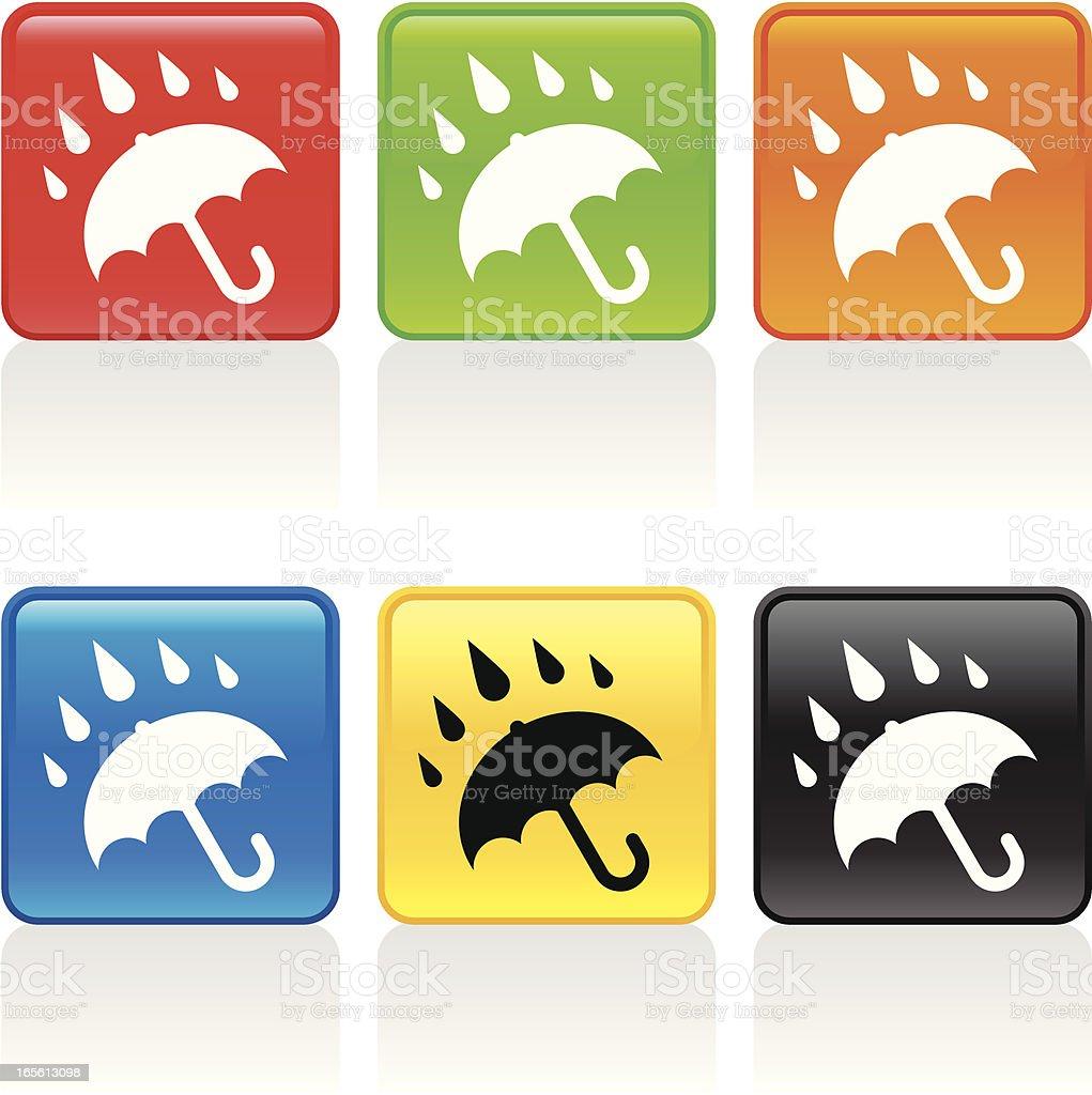 Rain Icon royalty-free stock vector art