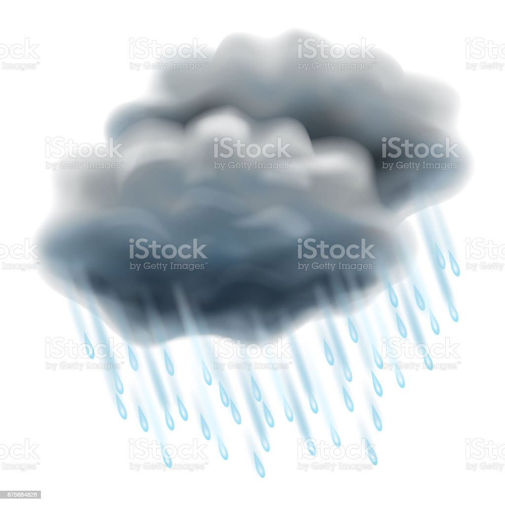 Sa spar du regnet bland molnen