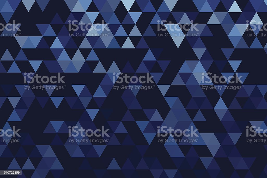 Rain Triangle Gradient Pattern vector art illustration