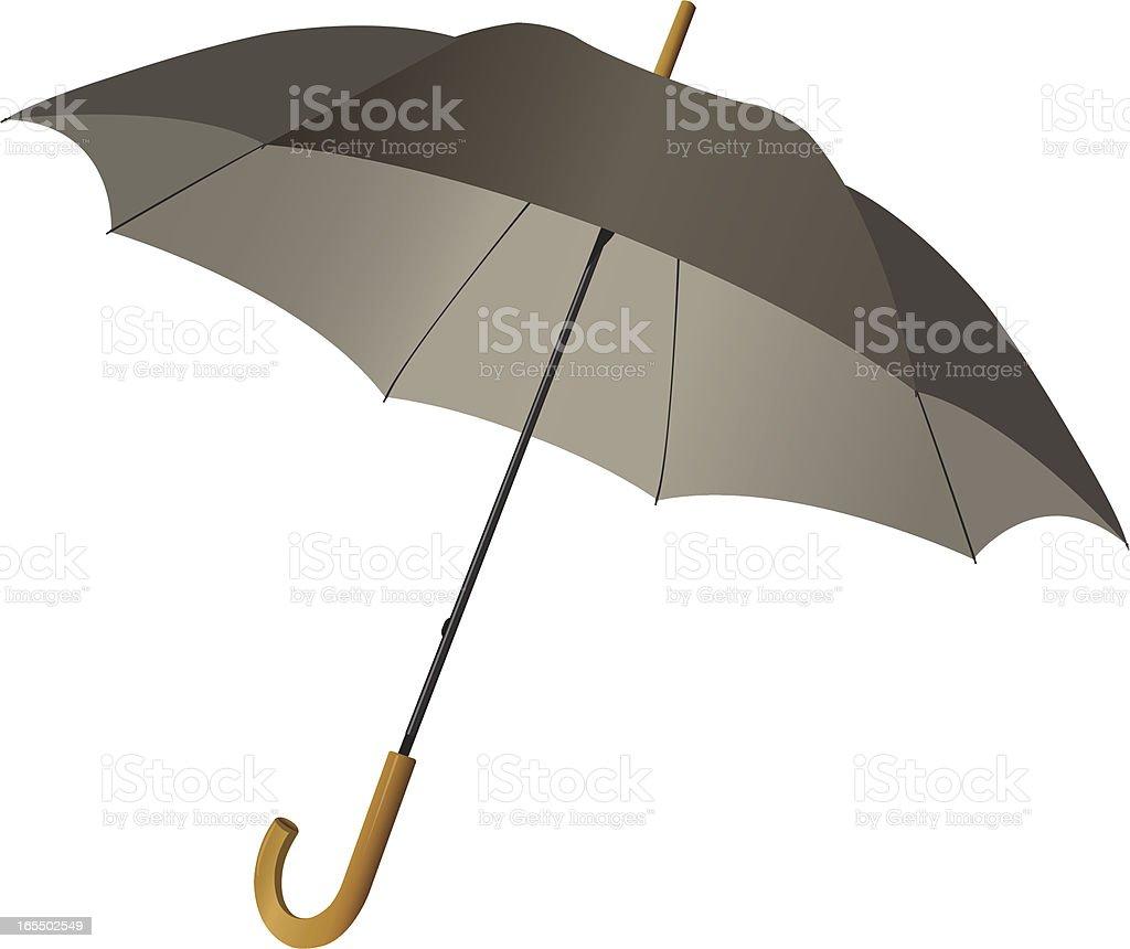 Rain Umbrella royalty-free stock vector art