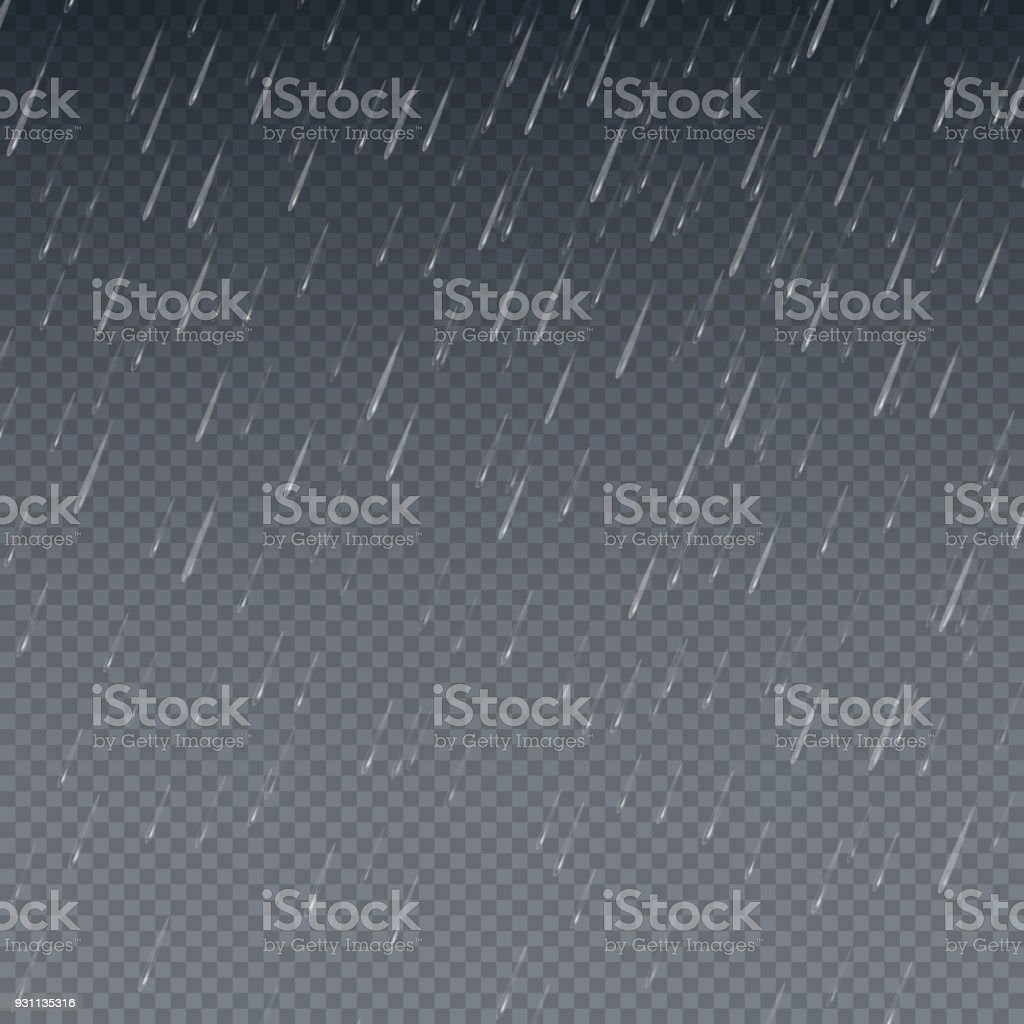 雨の壁紙流れ落ちる水は分離ベクトル図を削除します梅雨空の背景