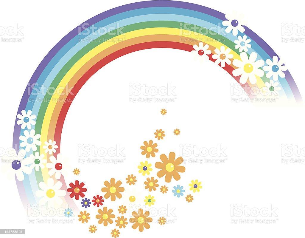 Arcobaleno e fiori immagini vettoriali stock e altre - Immagini di gufi arcobaleno ...