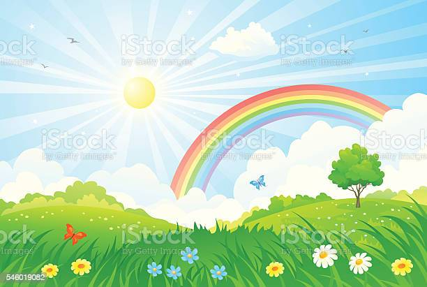 Rainbow and sun vector id546019082?b=1&k=6&m=546019082&s=612x612&h=us1hjxtmual9u2la30o8xphvf r2g1k0jznmu uli 4=