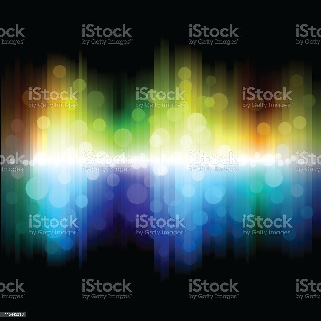 Rainbow background. royalty-free stock vector art