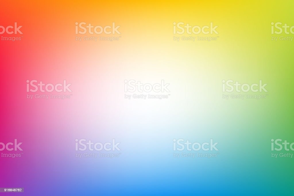 Rainbow blurred abstract vector background vector art illustration
