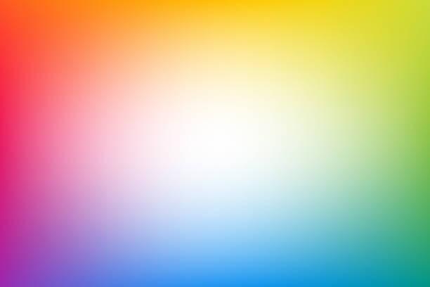 ilustraciones, imágenes clip art, dibujos animados e iconos de stock de arco iris borroso fondo de vector abstracto - fondos coloridos