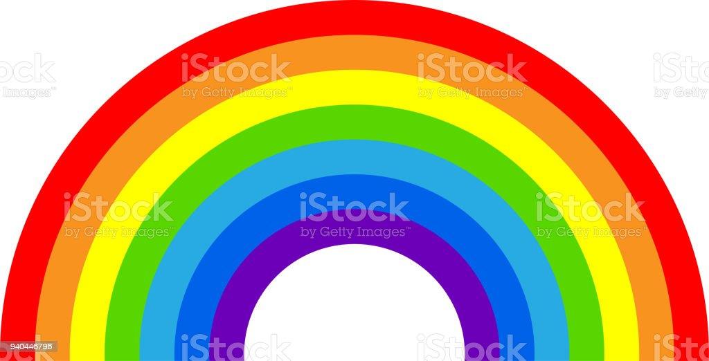 royalty free clip art of rainbow bridge clip art vector images rh istockphoto com  clipart rainbow bridge