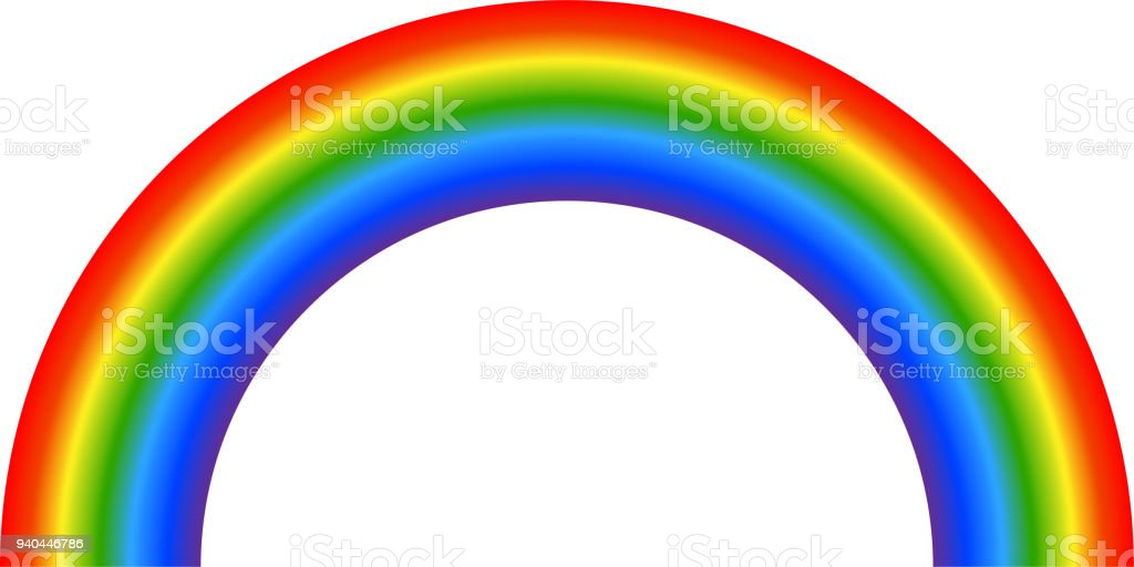 royalty free clip art of rainbow bridge clip art vector images rh istockphoto com free rainbow bridge clipart