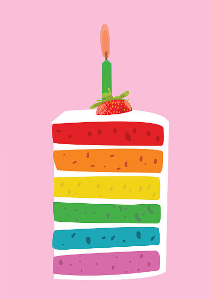 Royalty Free Slice Of Cake Clip Art Vector Images