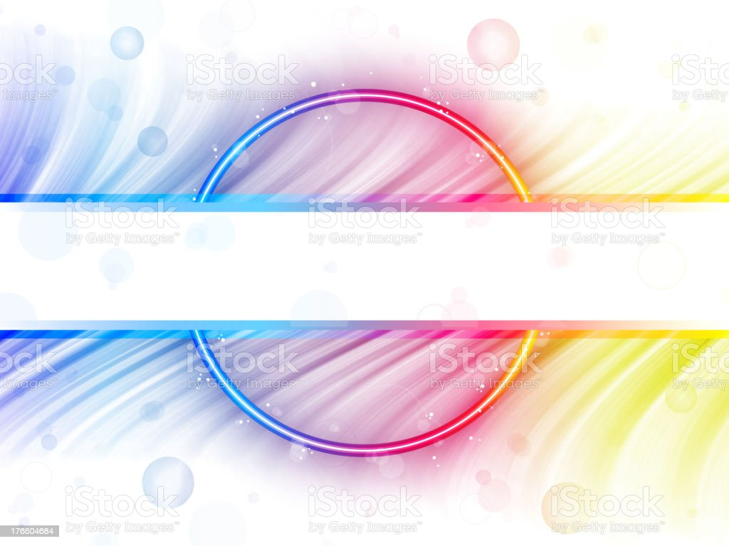 Rainbow Circle Border with Sparkles and Swirls royalty-free rainbow circle border with sparkles and swirls stock vector art & more images of abstract