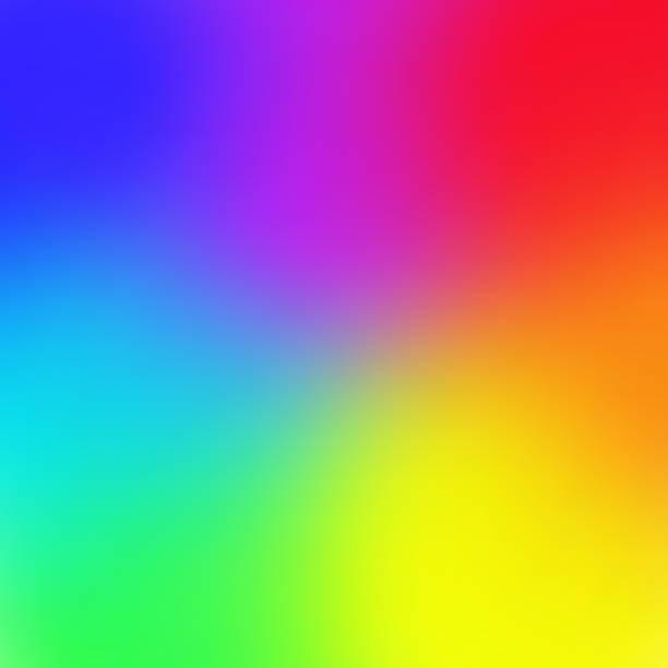 ilustrações, clipart, desenhos animados e ícones de fundo de malha de gradiente de cor de arco-íris na moda estilo de ilustração vetorial - arco íris