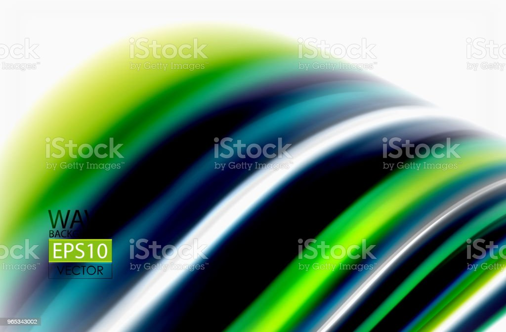Rainbow color waves, vector blurred abstract background rainbow color waves vector blurred abstract background - stockowe grafiki wektorowe i więcej obrazów abstrakcja royalty-free