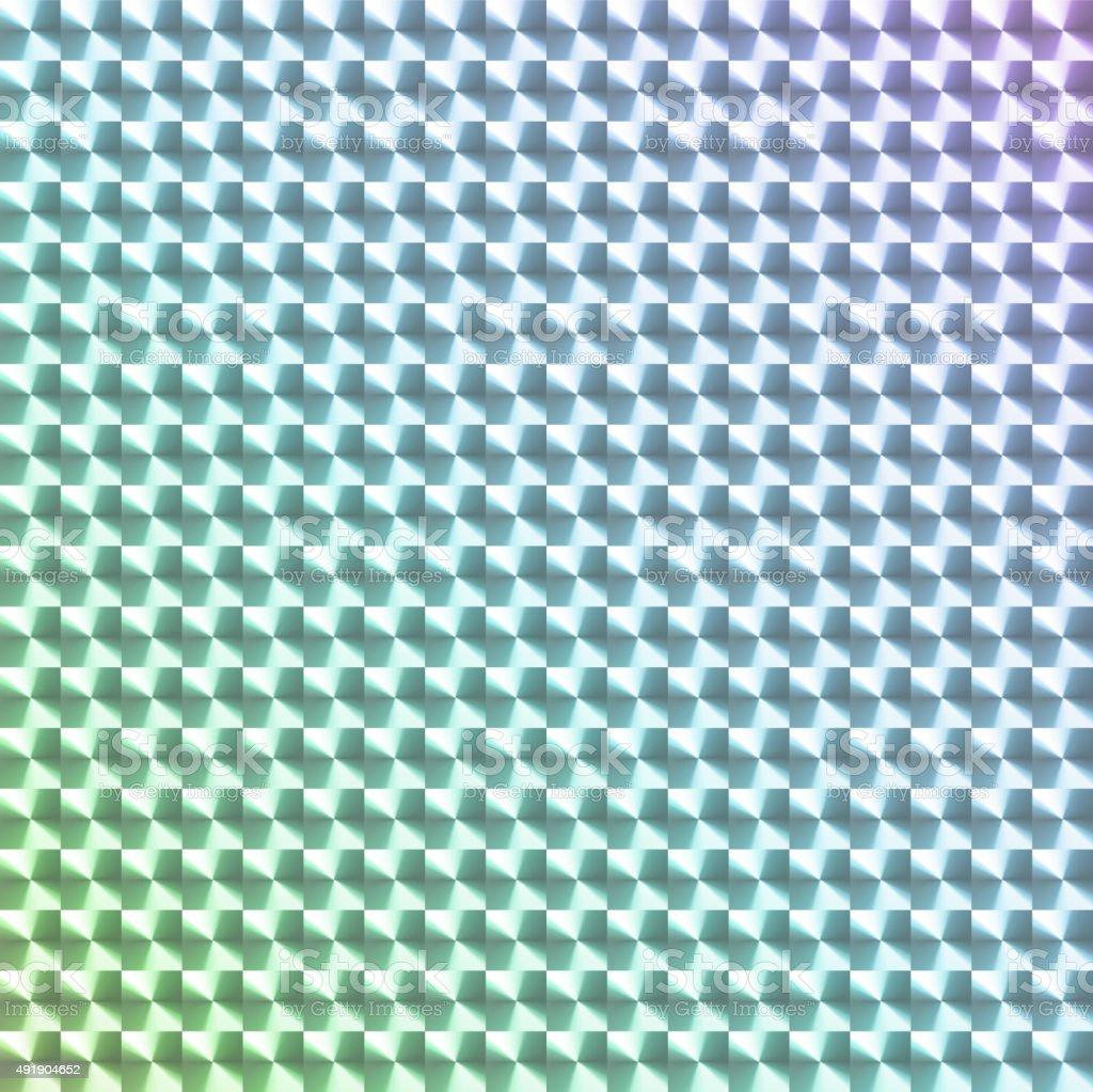 虹色のホログラムステッカー ベクターアートイラスト