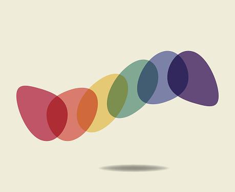 Rainbow colors designs