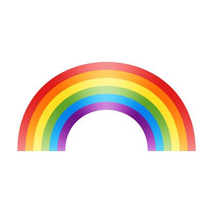 Rainbow flag design