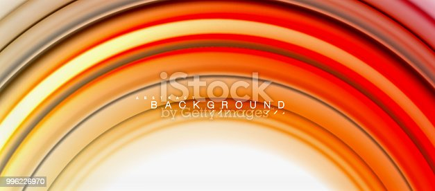 856252302istockphoto Rainbow fluid abstract swirl shape, twisted liquid colors design, colorful marble or plastic wavy texture background, multicolored template for business or technology presentation or web brochure cover design, wallpaper 996226970