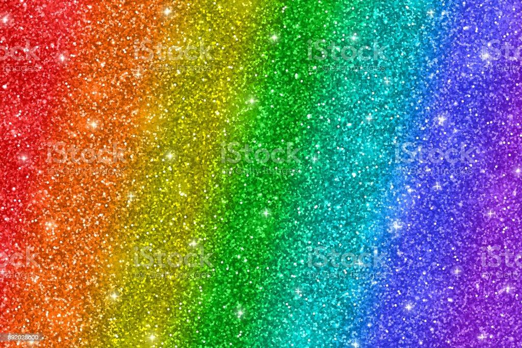 Fondo de brillo de arco iris - ilustración de arte vectorial