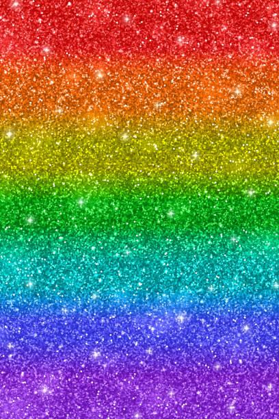 rainbow glitter texture - rainbow glitter background stock illustrations, clip art, cartoons, & icons
