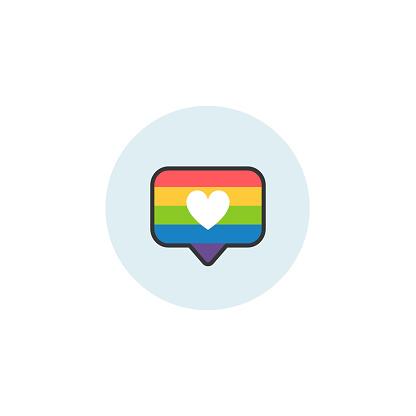 Rainbow like icon