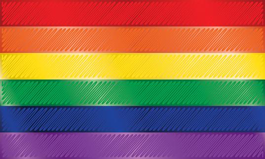 Rainbow or Pride Flag