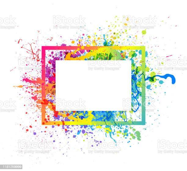 Rainbow paint splash frame vector id1151259999?b=1&k=6&m=1151259999&s=612x612&h=3yxcnv0dckcua4seeub74ie czs xfrykrzy4wd61dc=