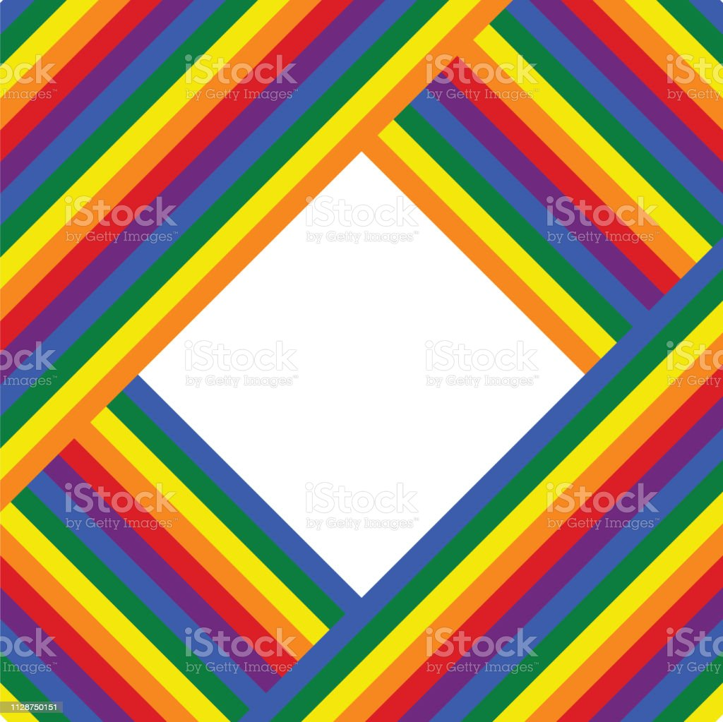 Wallpaper for LGBT movement, flag colors illustration, background for...