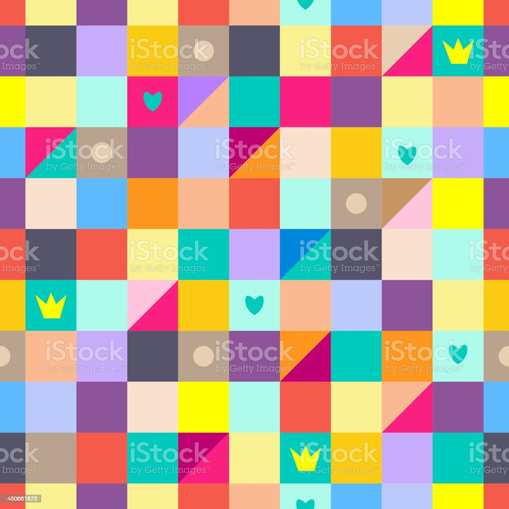 Rainbow seamless pattern royalty-free rainbow seamless pattern stock vector art & more images of abstract