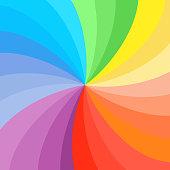 istock rainbow swirl background. 1224311165