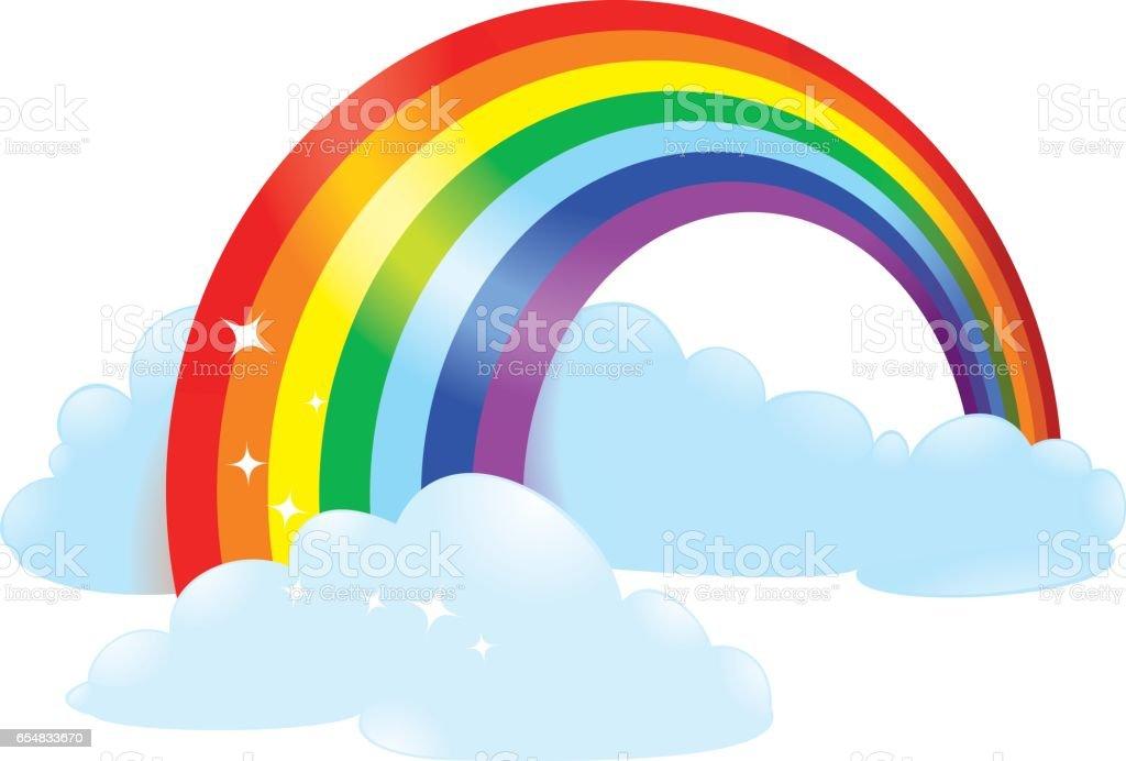 royalty free rainbow bridge clip art vector images illustrations rh istockphoto com rainbow bridge clip art free