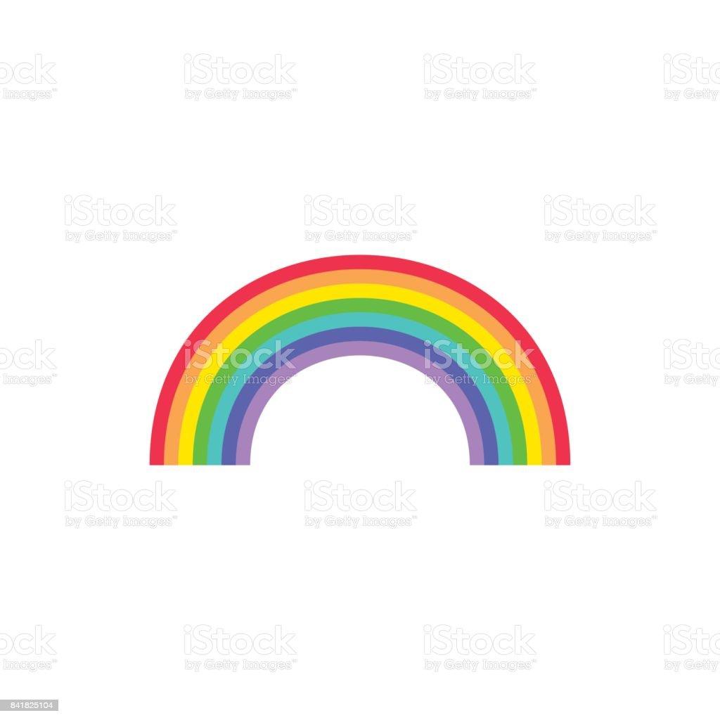 Torre Rainbow  - ilustración de arte vectorial