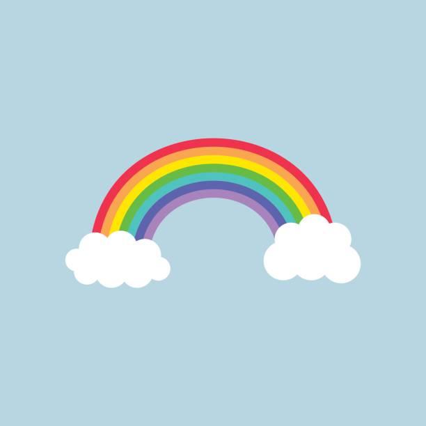 ilustrações, clipart, desenhos animados e ícones de arco-íris  - arco íris
