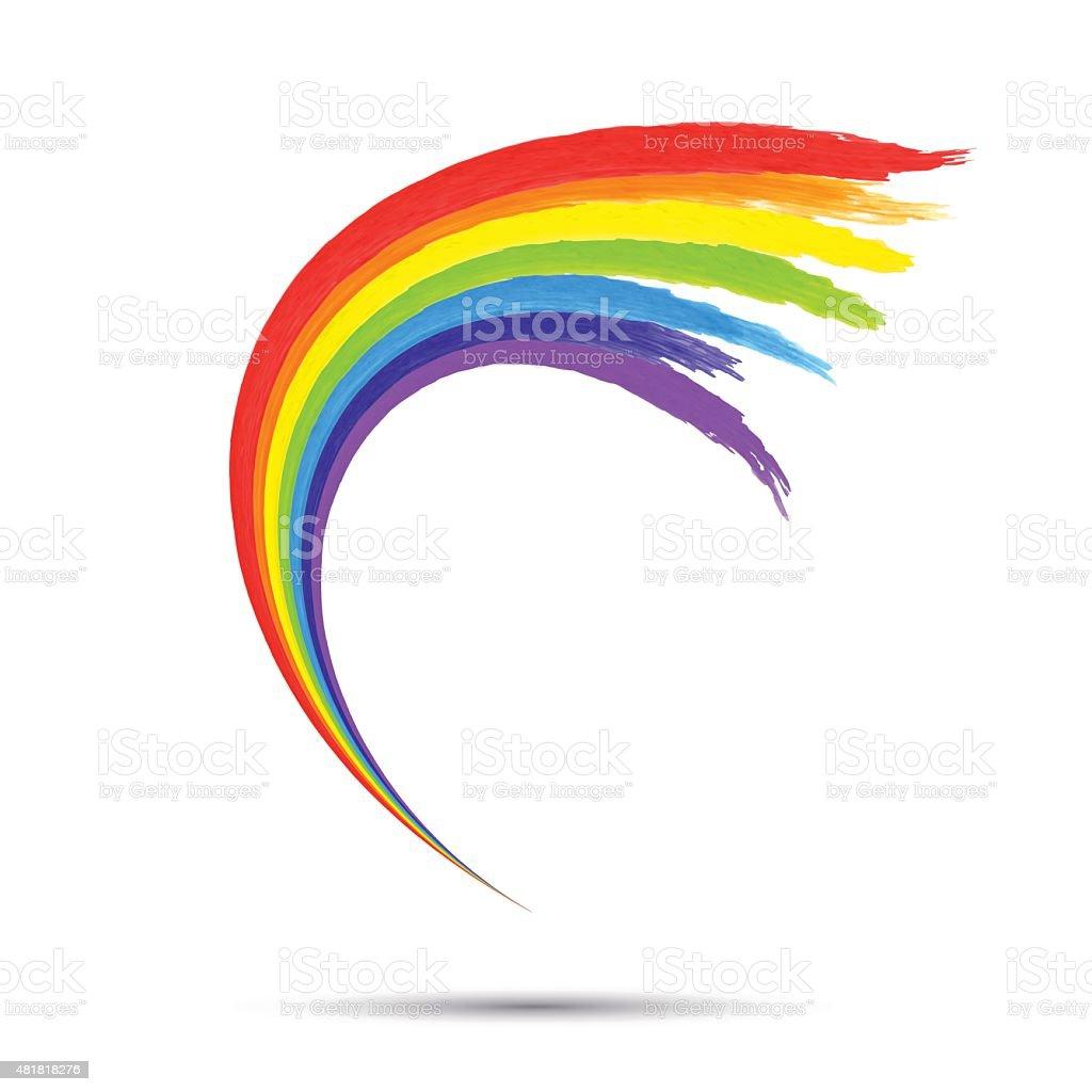 Vortice Modello Logo Arcobaleno Immagini Vettoriali Stock E Altre