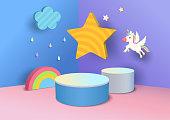 istock rainbow-3d-background-2 1212483613