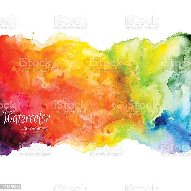 Rainbowcolored watercolor illustration over white vector id471889524?b=1&k=6&m=471889524&s=612x612&h=jgddpag8rwqobhi1vdp4mr3sytswzvaicgd roji aq=