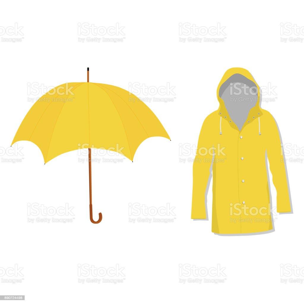 Rain Coat Clip Art Royalty Free Raincoat ...