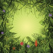 Free download of Jungle Leaf Vine vector graphics and ...